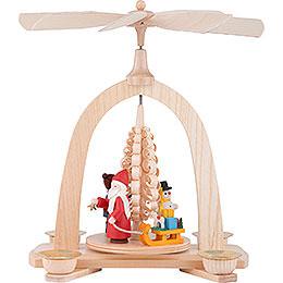 1 - stöckige Pyramide Kinder Weihnacht  -  23cm