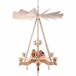 2 - Tier Ceiling Pyramid Christmas Market  -  55x85cm / 21.7x33.5 inch