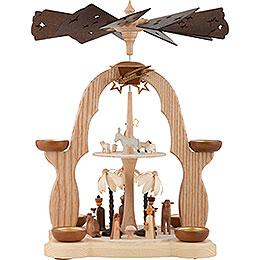 2 - stöckige Pyramide Christi Geburt  -  40cm