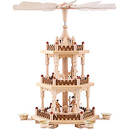 3 - Tier Pyramid  -  Merry Christmas  -  41cm / 16 inch