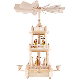 3 - Tier Pyramid  -  Nativity   -  45cm / 17.7i