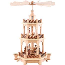 3 - stöckige Pyramide Christi Geburt  -  42cm