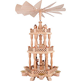 3 - stöckige Pyramide Christi Geburt  -  46cm