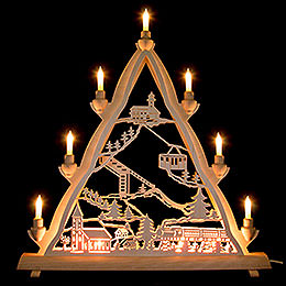 3D Light Triangle  -  Oberwiesenthal  -  50x55cm / 20x22 inch