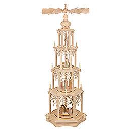 4 - Tier Christmas Pyramid  -  Gothic  -  135cm / 53 inch