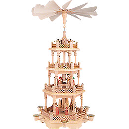 4 - Tier Pyramid  -  Nativity  -  58cm / 22.8 inch