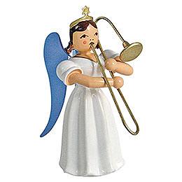 Angel Long Pleated Skirt Sliding Trombone, Colored  -  6,6cm / 2.6 inch