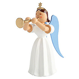 Angel Long Pleated Skirt Trombone, Colored  -  6,6cm / 2.6 inch