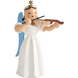 Angel Long Pleated Skirt with Violin, Colored  -  6,6cm / 2.6 inch