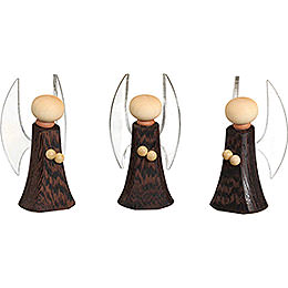 Angel, Set of Three  -  7cm / 2.8 inch