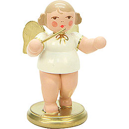 Angel White/Gold Conductor  -  6,0cm / 2 inch