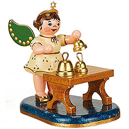 Angel with Bells  -  6,5cm / 2,5 inch