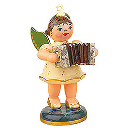 Angel with Concertina  -  6,5cm / 2,5 inch