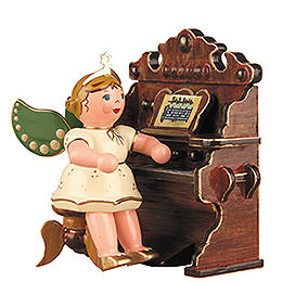 Angel with Harmonium  -  6,5cm / 2,5 inch