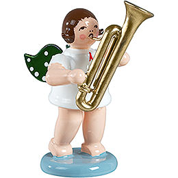 Angel with Sarrusophone  -  6,5cm / 2.5 inch
