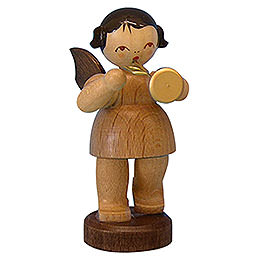 Angel with Trumpet  -  Natural Colors  -  Standing  -  6cm / 2,3 inch