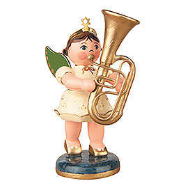 Angel with Tuba  -  6,5cm / 2,5 inch