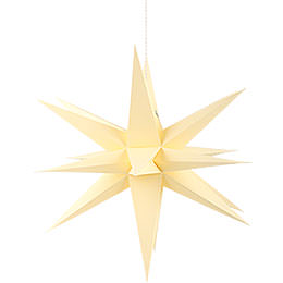 Annaberg Folded Star for Indoor Yellow  -  35cm / 13.8 inch