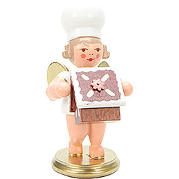 Bakerangel with Candy House  -  7,5cm / 3 inch
