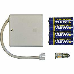 Batteriehalter zur Beleuchtung von 1 Stern Typ 29 - 00 - A1E oder 29 - 00 - A1B