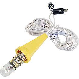 Beleuchtung für 29 - 00 - A1E und 29 - 00 - A1B  -  Kappe gelb