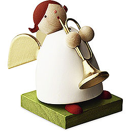 Big Band Guardian Angel with Trumpet  -  3,5cm / 1.3 inch