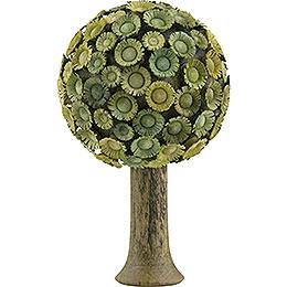 Blütenbaum grün  -  7,5x4,5cm