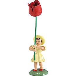 Blumenkind Tulpe, farbig  -  12cm