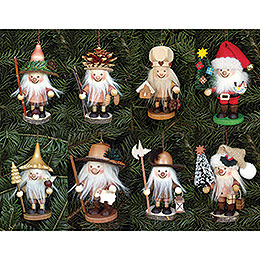 Bundle  -  Tree Ornaments Dwarfs