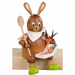 Bunny Dad Hans, Sitting  -  20cm / 8 inch