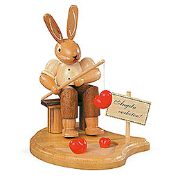 Bunny Fisherman  -  11cm / 4 inch