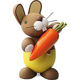 "Bunny ""Hagen"" with Carrot  -  16cm / 6.3 inch"
