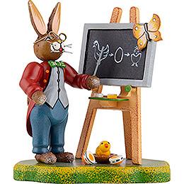 Bunny School Teacher Lempel  -  10cm / 4 inch