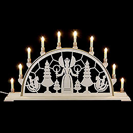 Candle Arch  -  Christmas Angel  -  78x42cm / 31x17 inch