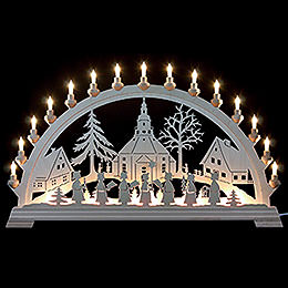 Candle Arch  -  Church of Seiffen  -  84x49cm/33x19 inch