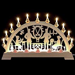 Candle Arch  -  Erzgebirge  -  64x40cm/26x16 inch