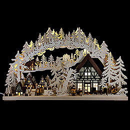Candle Arch  -  Little Village  -  72x43cm / 28.3x17 inch