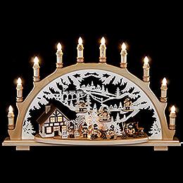 Candle Arch  -  Lumbermen  -  67x42x15cm / 26x16.5x6 inch