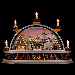 Candle Arch  -  Mettenschicht  -  Limited by Klaus Kolbe  -  57x40x12,5cm / 22.5x15.5x5.0 inch
