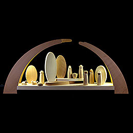 Candle Arch  -  Nativity  -  62x25cm / 24.5x10 inch