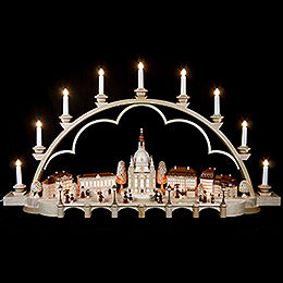 Candle Arch  -  Old Dresden  -  103cm / 41 inch  -  120 V Electr. (US - Standard)