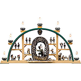 Candle Arch  -  Scenes From the German Erzgebirge  -  73x41cm / 28x16 inch