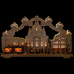 Candle Arch  -  Striezel Market of Dresden  -  70x40cm / 27.5x15.7 inch