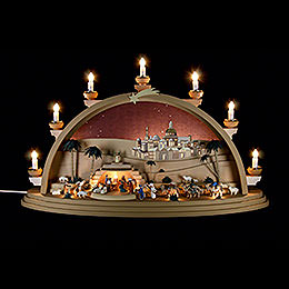 Candle Arch  -  The Nativity  -  75x42x20cm / 29.5x16.5x7.8 inch