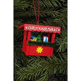 Christbaumschmuck Christkindlmarkt Spielzeug  -  6,3x5,3cm