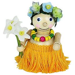 Christbaumschmuck Hawai - Mädchen  -  7cm