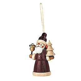 Christbaumschmuck Weihnachtsmann  -  8cm