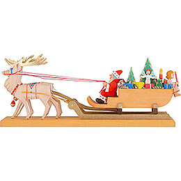 Christmas Sled  -  10,5cm / 4.1 inch