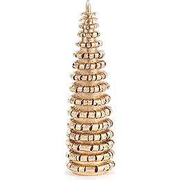 Coiled Tree without Trunk  -  Golden  -  8cm / 3.1 inch
