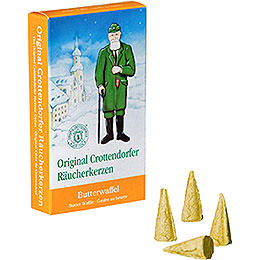 Crottendorfer Incense Cones  -  Butter Waffle